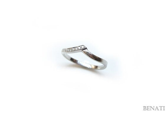 Matching Ring For Diamond Infinity Ring Diamond Wedding by Benati