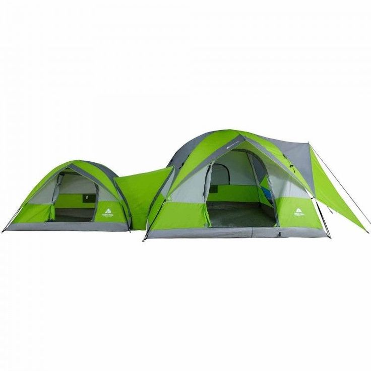 Family Camping Tent Outdoors Fishing Picnic Canopy 8 Person Domes Hiking Green #FamilyCampingTent #Dome