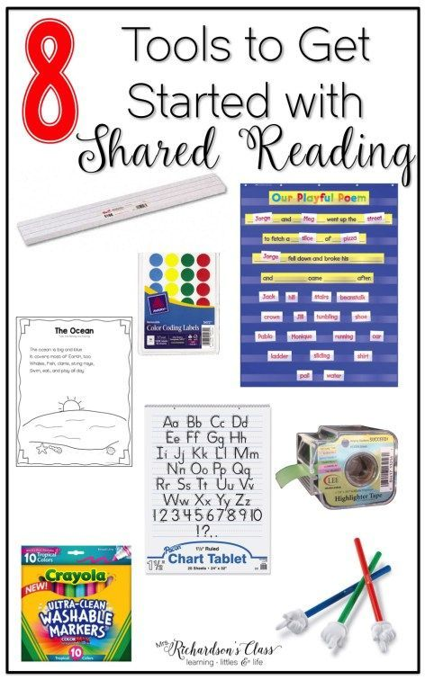 Shared reading instruction can seem pointless, but it truly is so important to balanced literacy! These tools are a great way to help you get started!