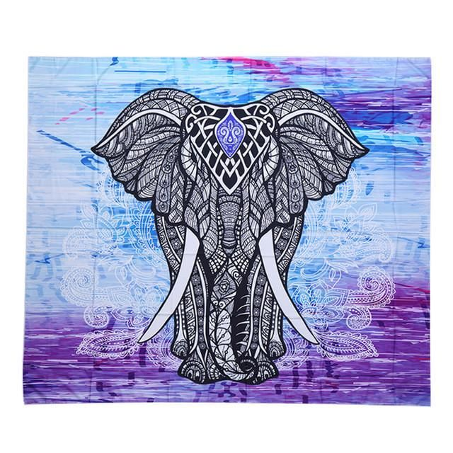 Bohe Mandala Flower Wall Paper Decor Yoga Studio Vinyl: Best 25+ Mandala Elephant Ideas On Pinterest