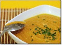 Crema di carote e zenzero ricetta light