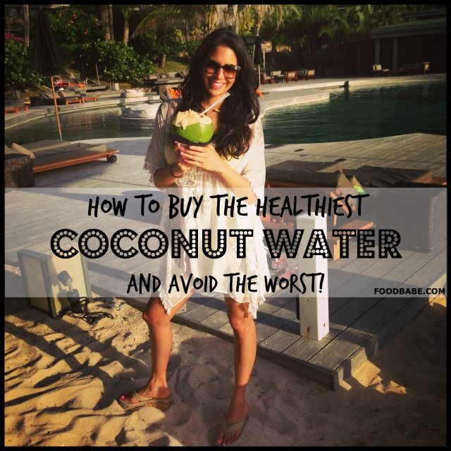 A VERY GOOD READ IF YOU DRINK/USE COCONUT WATER.                                  The Best Coconut Water