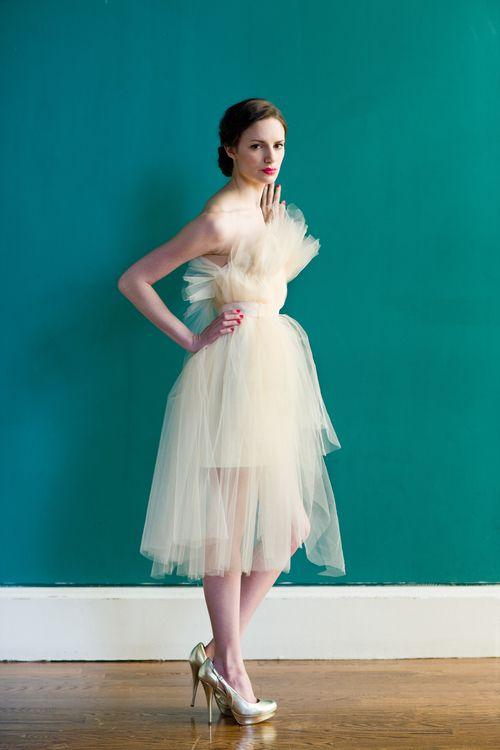 41 best Short Wedding Dresses images on Pinterest   Short wedding ...