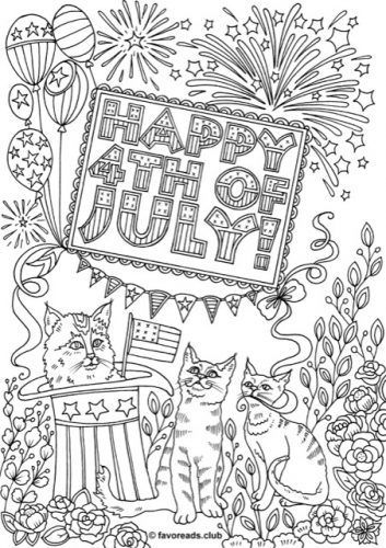 Free Printable Fourth Of July Coloring Pages Printable Coloring