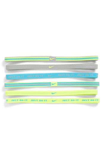 I'm really feeling headbands to tame my mane. Nike Wide Sports Headband (6-Pack) available at #Nordstrom