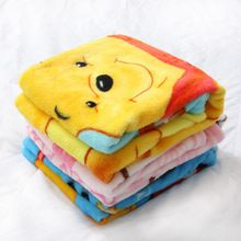 100 cm x 70 cm Cartoon coral fleece mantas de bebé recién nacido cama, niños manta, inicio viaje manta, niños toalla de baño toalla toalla, ropa de cama(China (Mainland))