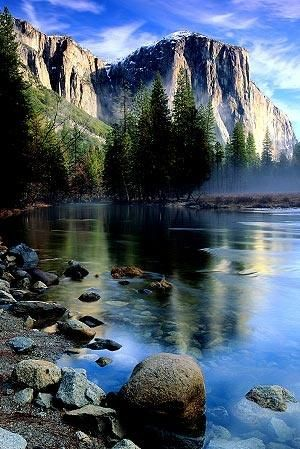 YOSEMITE NATIONAL PARK, CALIFORNIA: one of the most beautiful spots