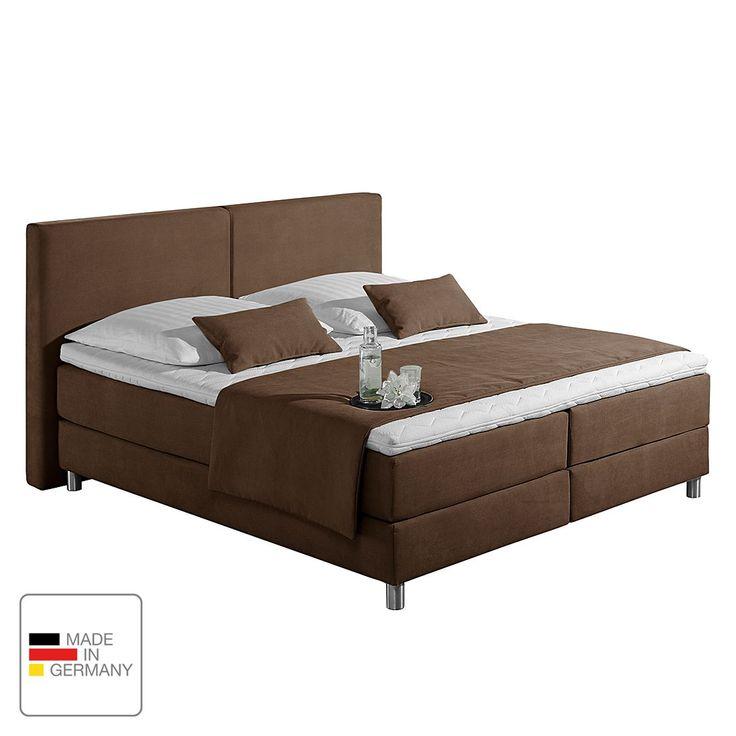 Boxspringbett Nilan – Webstoff – 160 x 200cm – H3 …