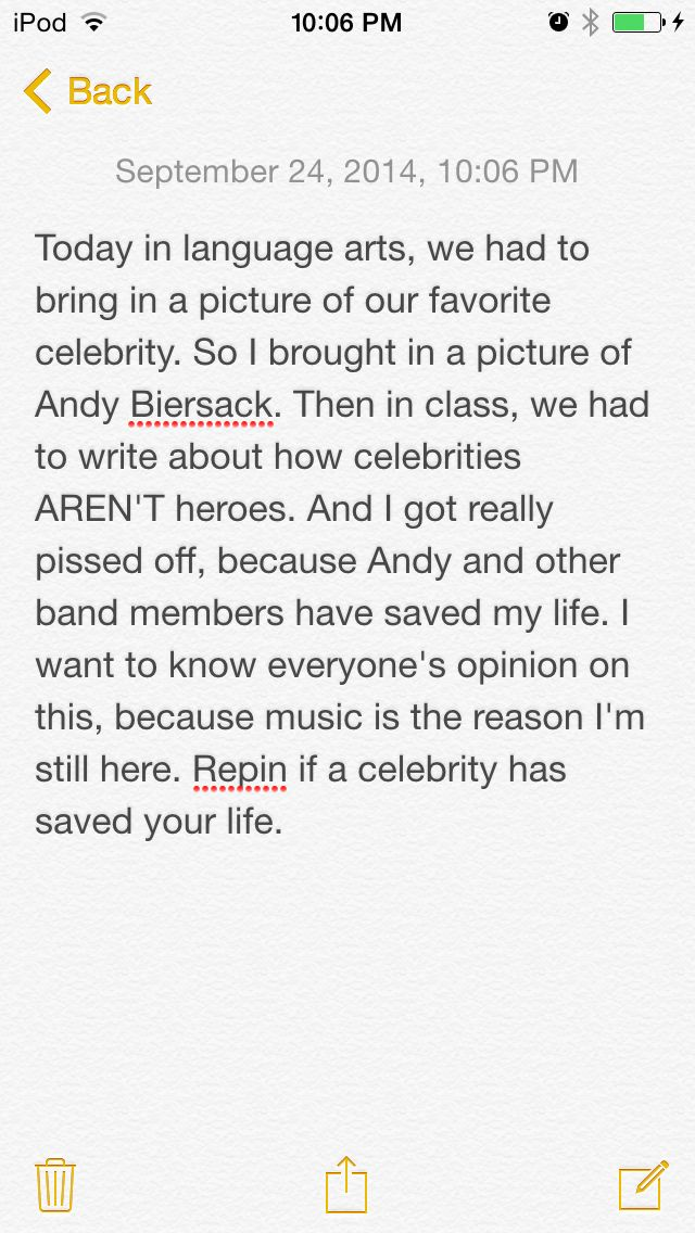 That is just straight up MESSED UP!! Many, many, MANY celebrities have saved lives!! It doesn't matter what type of music they make, they don't even have to make music! It can be anyone, any celebrity, any band member, if they're saving lives, if they have saved YOUR life. THEY. ARE. IMPORTANT.