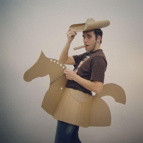 Cardboard Cowboy :)