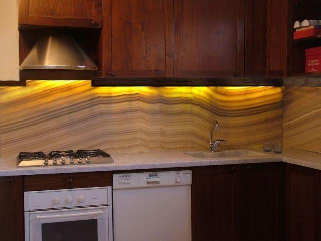 Honey Onyx Tile Backsplash Gallery Modern Flooring Pattern Texture
