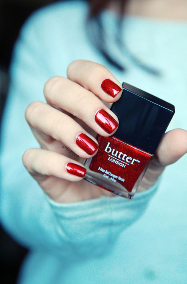 On My Nails - Butter London Chancer...<3