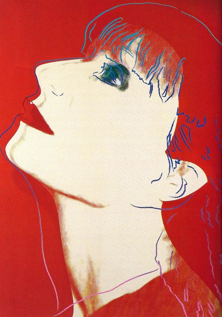 SONIA RYKIEL - ANDY WARHOL - 1986 Andy Warhol: More at FOSTERGINGER @ Pinterest