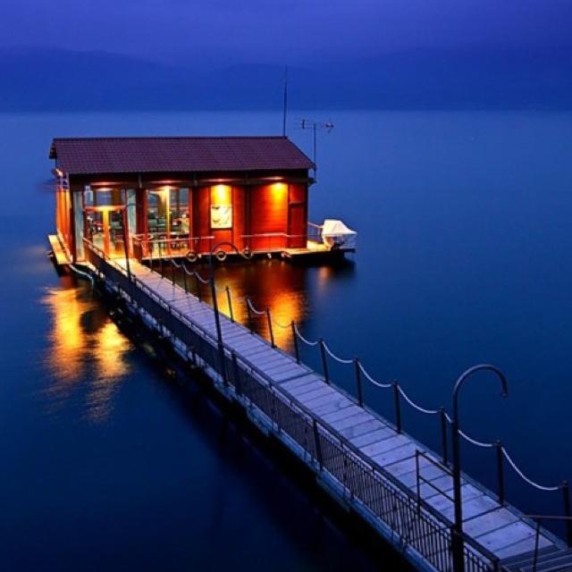 Lake house in Arnissa, Greece