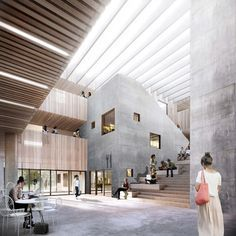 WE SELECTED AS ONE OF THE WINNERS OF PSYCHIATRIC HOSPITAL PC BALLERUP 1ST PHASE - we architecture