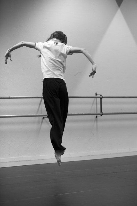 Sylvie Guillem in rehearsal.