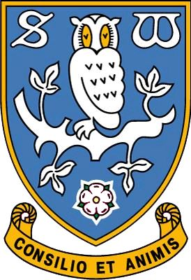 Sheffield Wednesday FC (2016 logo), The Championship, Sheffield, South Yorkshire, England
