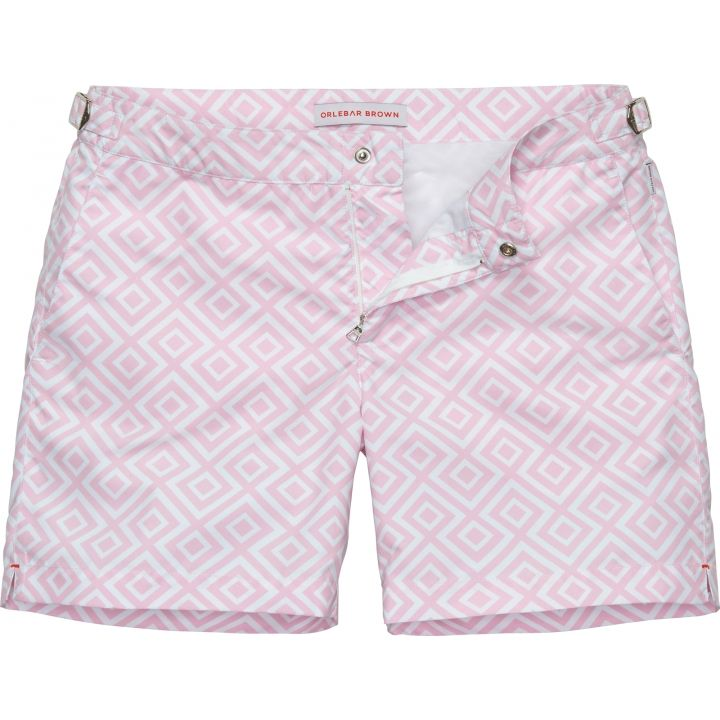 Bulldog - The Classic Beach Short - Fiorentina (Light Pink)