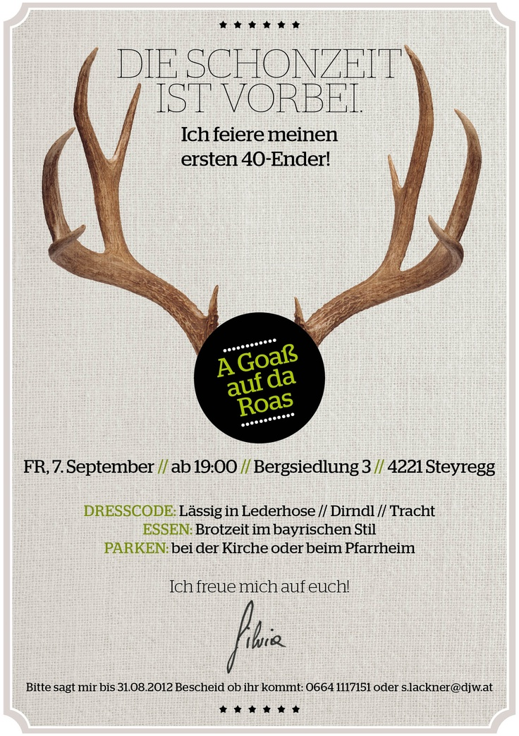 Birthday #Invitation. Einladung ...