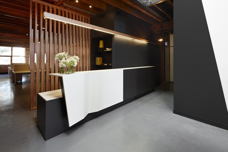 Gallery | Australian Interior Design Awards 2012 | paper stone scissors office by Russell | reception desk