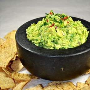 The best ever authentic guacamole recipe, the only one you will ever use from hereon! The secret step that makes this so special is mashing some of the red on