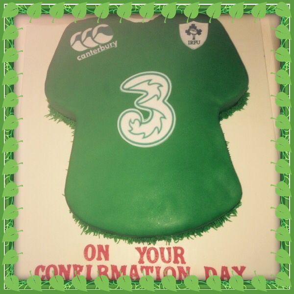 Irish Rugby cake