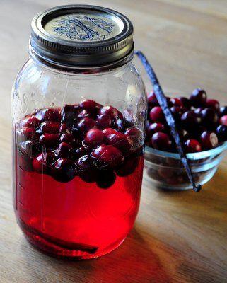 Cranberry Vanilla Vodka