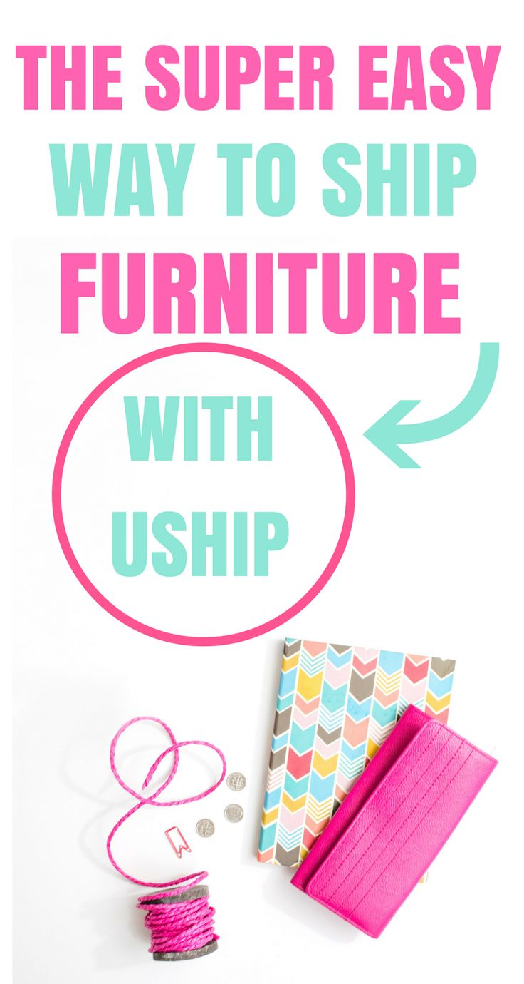 I love how easy it is to ship my re-finished furniture using Uship! Shipping is ...