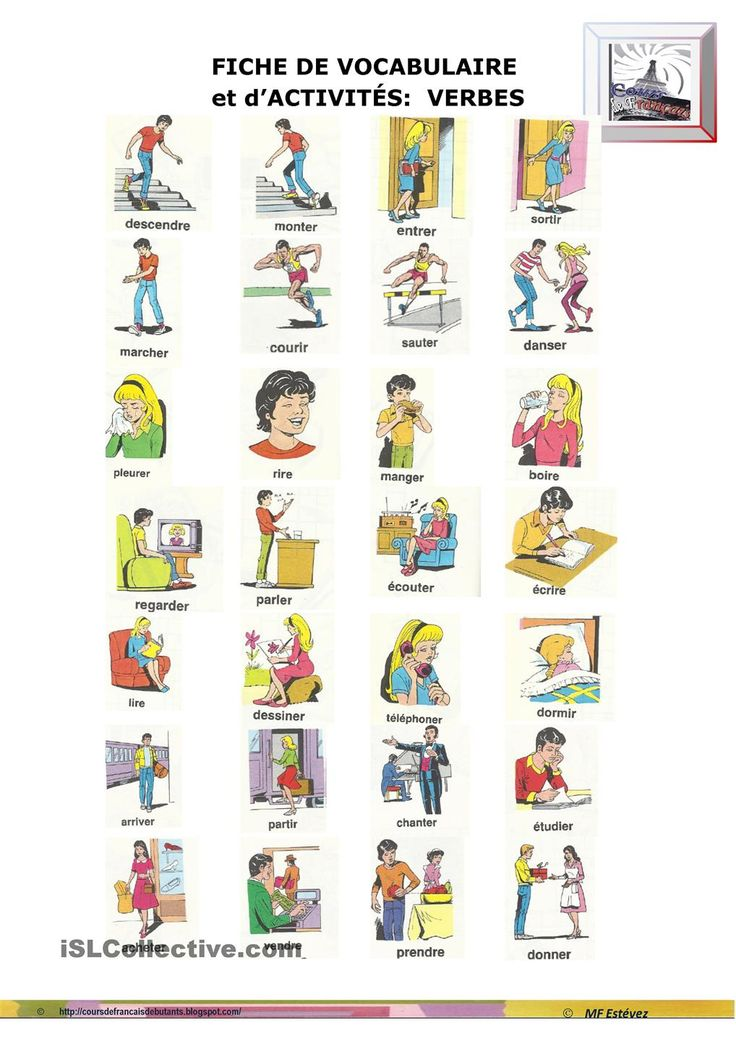 680 best images about french verbs on pinterest