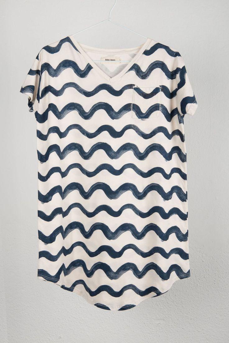 Bobo Choses Tunic Dress: Waves