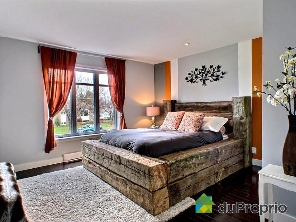 chambre des ma tres de r ve voir st constant duproprio d coration pinterest sous sol. Black Bedroom Furniture Sets. Home Design Ideas