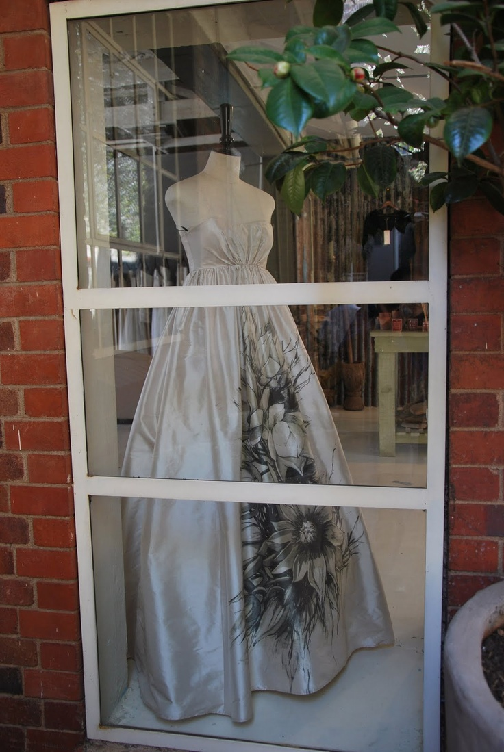 Lunar at 44 Stanley - my wedding dress designer. Photo by Paula Gruben.