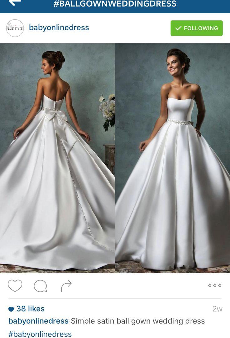 191 best Hochzeitskleider images on Pinterest | Night out dresses ...