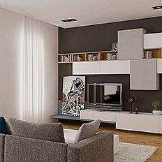 design mobilier Cluj mobila la comanda living pal mdf