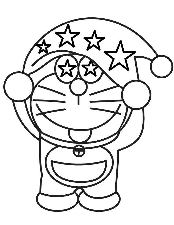 Disegni da colorare per bambini. Colorare e stampa Doraemon 5