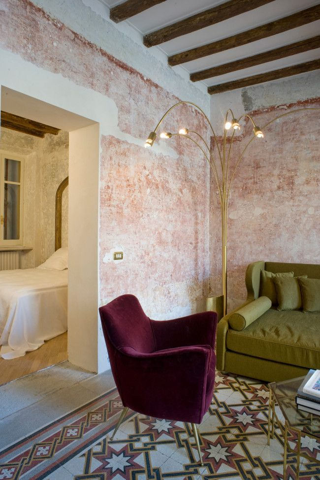G rough design hotel opens in rome this month see inside for Design hotels rome