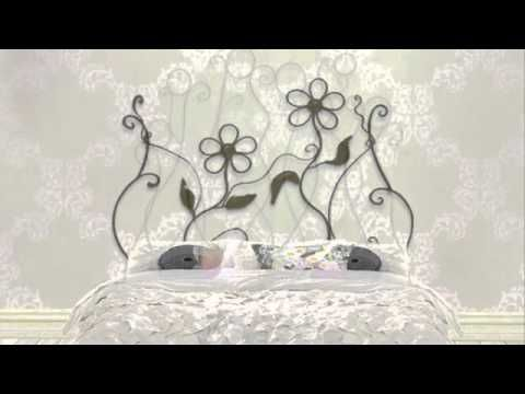 VirginiART ®: Muebles de forja | Cabeceros de forja | Venta Muebles forja | Camas de Forja - YouTube