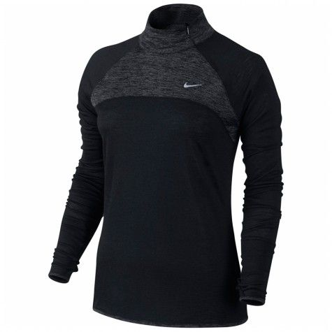Nike Dame Wool 1/2 Zip - Trøjer og mellemlag - Løbetøj - Løb - Dame
