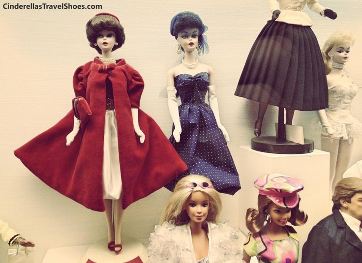 Elegant Barbie dolls