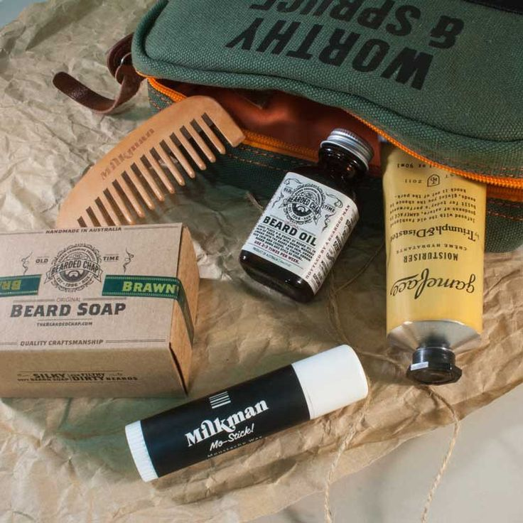 The Ultimate Beard Care Tool Kit from Worthy & Spruce