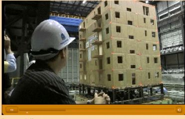 How do engineers use models and earthquake simulations to test designs for earthquake-resistant buildings and structures? (5-minute video)