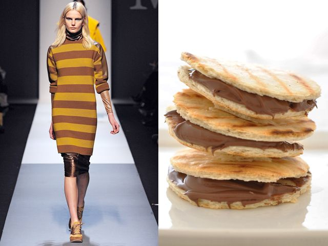 Max Mara fw 2013-14 / Homemade piadina with Nutella