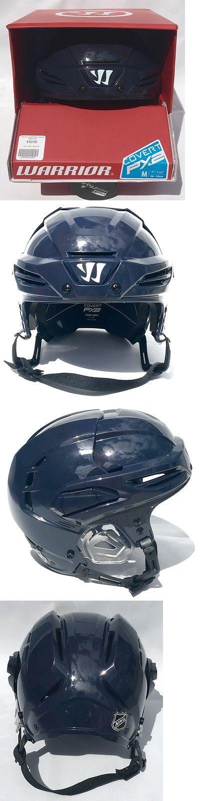 Helmets 20854: New Warrior Covert Px2 Hockey Helmet - Navy Size Medium -> BUY IT NOW ONLY: $85 on eBay!