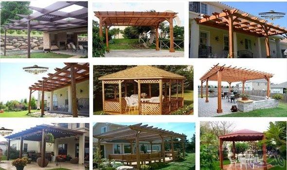 البرجولات تساعد في تحويل سطح المنزل لمكان للاستجمام Pergola Outdoor Structures Home Decor