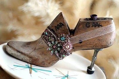 Pieces From My Heart: Sandy Gervais made this shoe last treasure
