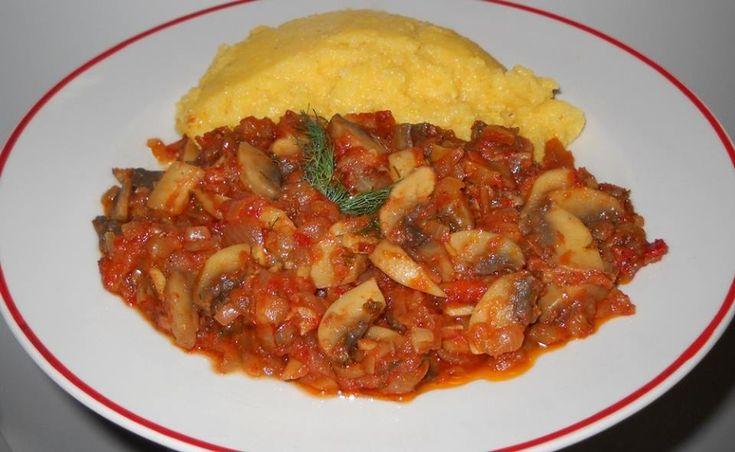 Reteta culinara Mancare de post- tocanita de ciuperci din categoria Mancaruri de post. Cum sa faci Mancare de post- tocanita de ciuperci