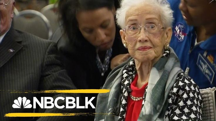 NASA Honors Famed African American Mathematician Katherine Johnson | NBC BLK | NBC News - YouTube