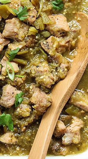 Slow Cooker Hatch Green Chile Verde