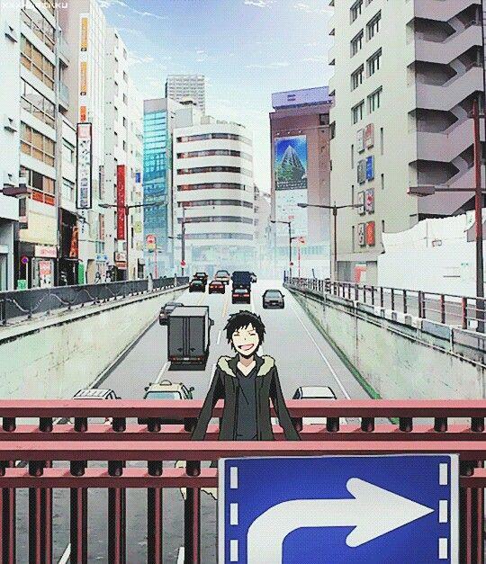 Izaya Orihara- Durarara x2 Ketsu ~ Ep 03