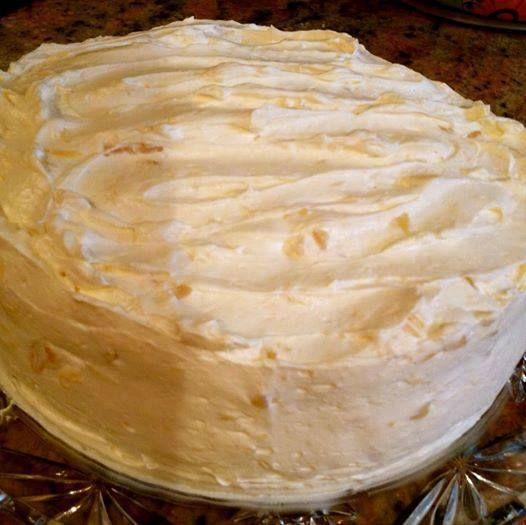 Recipes & Recipes: Pineapple-Orange Sunshine Cake